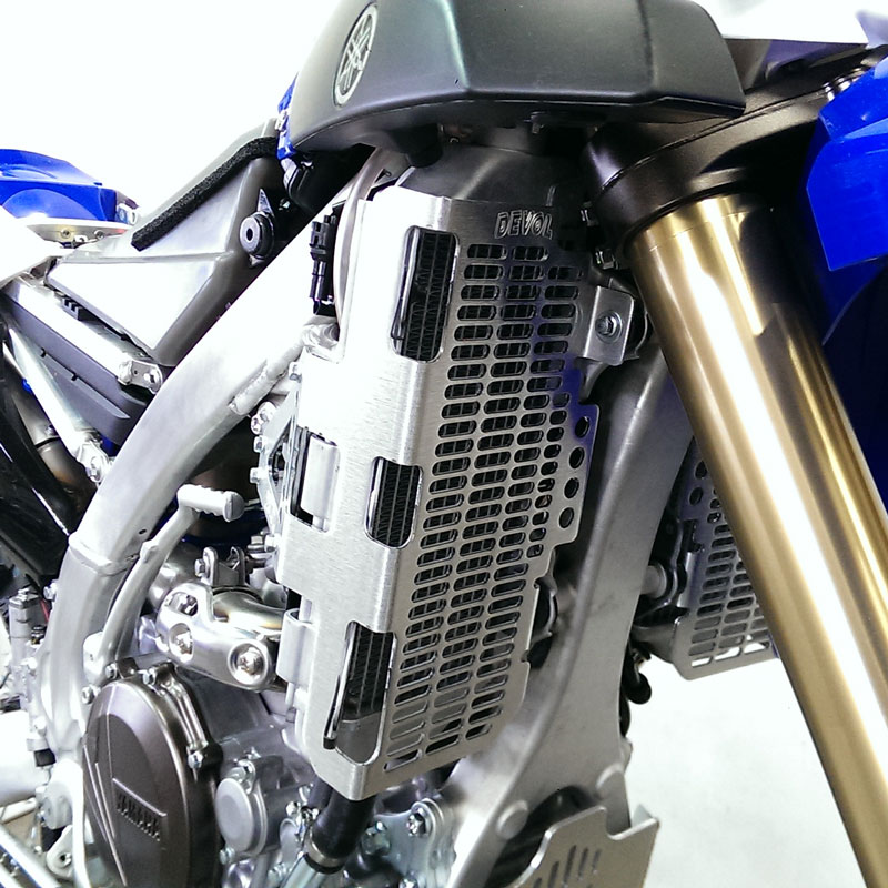 Devol 16-20 Yamaha YZ250X Radiator Guards